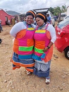 Xhosa Attire, African Traditional Wear, Shweshwe Dresses, We Wear, How To Wear, Zulu, African Prints, African Dress, Pride