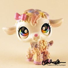 Mary the Spring Lamb custom LPS by thatg33kgirl on DeviantArt