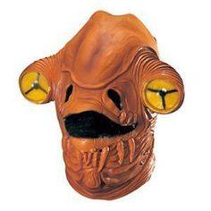 【コスプレ】 RUBIE'S(ルービーズ) 3208 Admiral Ackbar Latex Mask (スターウォーズ) アクバー提督 ラテックスマスク - 拡大画像