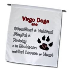 LOL! Virgo Dogs are Cat Lovers At Heart! Funk This House | Fun Virgo Astrology Compatibility with Funky Virgo Products | http://funkthishouse.com