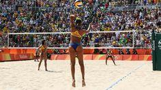 Río 2016: ¿Por qué a los jugadores de voleibol de playa no se les pega la arena?…