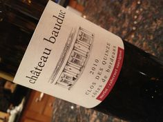 First time trying this new vintage from Château Bauduc since I had a sneak preview in the Château last year. It's like picking blackberries straight off the ditch just before they're ready, full and ripe but with a tart edge, fabulous! [Mike] Bordeaux, Sauvignon, Blackberries, Tart, Drinking, Wine, Bottle, Vintage, Blackberry