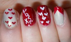 Quick and Easy Valentine's Day Nails