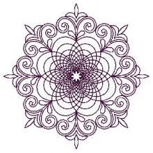 Alessia Quilt Embroidery Design - Machine Embroidery Designs