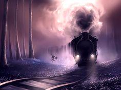 Train-train quotidien on Behance