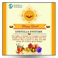 Enstella Systems, Wish u and your family a very happy Diwali. May God fulfill all your wishes in wealth, health & happiness in your life.