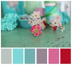 Heart Handmade UK: Bright and Colourful Photography Styling and Inspiration Colour Schemes, Color Combos, Happy Flowers, Pink Flowers, Color Photography, Colourful Photography, Farm Photography, Garden Pictures, Handmade Home