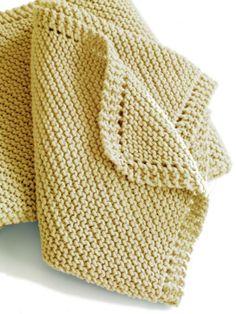 Free Knitting Pattern - Baby Blankets & Afghans: Irvington Blanket