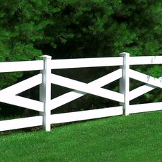 Crossbuck - Six styles of Post & Rail available. All Illusions Post and Rail fence is F964-09 compliant with no hidden fillers that may contain lead or other additives to harm horses or other animals.