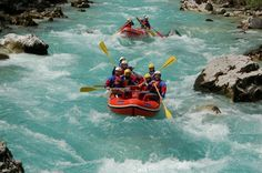 8 deportes de verano: el rafting... #verano #rafting #deporte