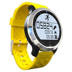 Waterproof Bluetooth Smart Watch F69 for iPhone and Android Smartphone Smartwatch heart Rate monitor display on sunlight #Affiliate