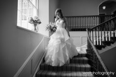 Westphotography at Rockbeare Manor Grand Staircase, Grand Entrance, Vows, Bridal, Stylish, Wedding Dresses, Beautiful, Fashion, Bride Dresses