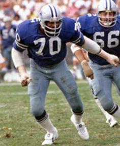 #70 Rayfield Wright, 'The Big Cat' - OT 1967-1979; Dallas Cowboys ROH 2004; Pro Football HOF 2006