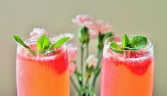 Delicious & Gluten Free: Raspberry Prosecco Cocktails - 3 Year Blogiversary!