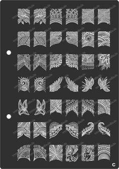Spellbinding Nail Stamping Plate
