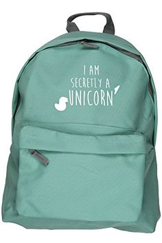 HippoWarehouse I AM SECRETLY A UNICORN backpack ruck sack Dimensions: 31 x 42 x 21 cm Capacity: 18 litres HippoWarehouse http://www.amazon.co.uk/dp/B012CWUFEY/ref=cm_sw_r_pi_dp_Q6y6vb0NTEAC2