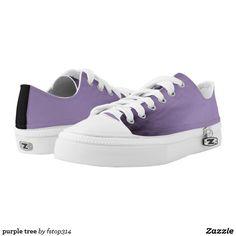 purple tree Low-Top sneakers