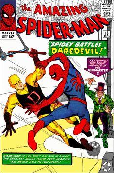 Amazing Spider-Man 16 Steve Ditko Marvel comics silver age