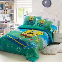 Spongebob Bedding Set Bed Duvet Set
