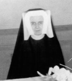 Sister Mary St. Canice Lyng was born Mary Lyng on October 11, 1914 in Chicago. She entered the BVM Community on November 8, 1932. Previously, she was Sister Superior of St. Mary's School in DeKalb, Illinois, and before that had taught in California. On December 1, 1958, rather than abandon her students she heroically stayed with them to the very end. She was interred on December 4, 1958 at Mt. Carmel, Hillside, Illinois.
