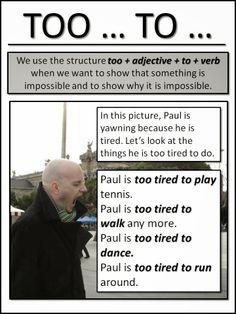 too... to... AskPaulEnglish: Elementary (Waystage)