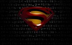 3d Superman Wallpaper Ii Android Superman Logo Wallpaper Black Full Hd Wallpapers
