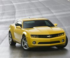 I will own you Yellow Camaro SS