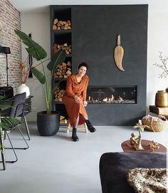 Deco, Loft, Living Room, House Styles, Painting, Instagram, De Stijl, Painting Art, Lofts