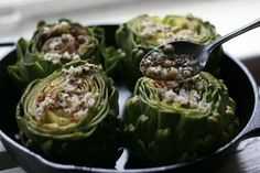 Roasted Artichokes Sicilian Style  Tried this tonight will post my finished product next