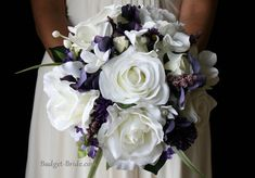 Lasting Plum Wedding Flower Package Love the look of this but would want to add blush and powder blue colors to it.
