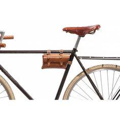 No. 211 Frame Bike Pouch, Tan - BILLYKIRK, INC.