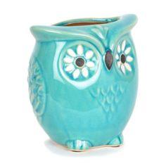 Capri Blue Owl Vase | Kirkland's