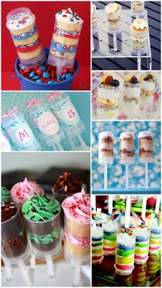 Cake Push Pops & Push Up Pops: Adding That Sweet Touch « The Daily Design™ by Koyal Wholesale® Cake Push Pops, Push Up Pops, Cakepops, Just Desserts, Delicious Desserts, Yummy Treats, Sweet Treats, Cupcake Cakes, Cupcakes