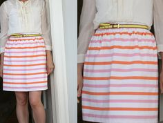 skirt tutorial (maybe i could finally make the maxi skirt i've always wanted).//Maxi skirt! Yes! Long and simple with no ruffles.