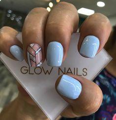 Acrylic Nails Coffin Short, Fall Acrylic Nails, Coffin Nails, Glow Nails, Gelish Nails, My Nails, Cute Nails, Pretty Nails, Colorful Nail Designs