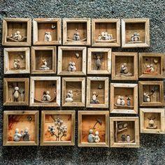 Mitt lille, lille galleri, av små, små drivved-stein bilder #drivved #driftwood #driftwoodart #driftwoodartist #drivvedfolket #kunstner #kunst #norwegianmade #norway #norge #namsos #namdalen #hjemmelaget #hjemmehosmeg #hjemkjærehjem #handmade #homedecor #handywoman #handcrafted #tovekristinshage #trønderlag