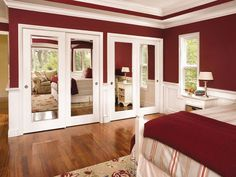 Interior Door Molded - Bostonian Impression Mirror - Textured Surface