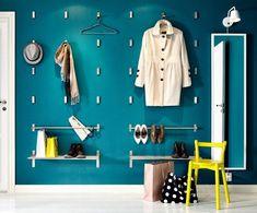 Brilliant & Beautiful: 5 New Ways to Hang Coat Hooks | Apartment Therapy Main | Bloglovin'