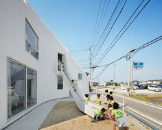 MAD architects completes clover house kindergarten in japan