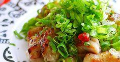 ピリ辛葱だく◎鶏もも肉の葱塩レモン by putimiko [クックパッド] 簡単おいしいみんなのレシピが249万品