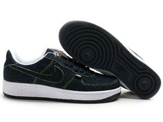 super popular 9bd69 38fe4 Chaussures Nike Air Force One Blanc Bleu -  Nike Chaussure Pas Cher,Nike  Blazer and Timerland