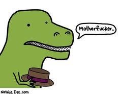 Los problemas de ser un T-Rex ¡¡¡¡Oh dios mío soy un T-Rex !!!!!