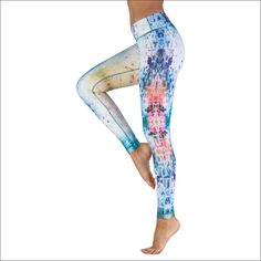 Buy Colorful and Unique Yoga Pant for Women - Crazy Drop - Compression Legging. Yoga Headband, Yoga Equipment, Yoga For Men, Headbands For Women, Skinny Fit, Yoga Pants, Leggings Are Not Pants, Capri Pants, Pants For Women