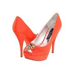 #Tangerine Wedding Shoes... Wedding ideas for brides, grooms, parents & planners ... https://itunes.apple.com/us/app/the-gold-wedding-planner/id498112599?ls=1=8 … plus how to organise an entire wedding ♥ The Gold Wedding Planner iPhone App ♥