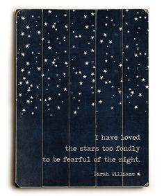 'I Have Loved'