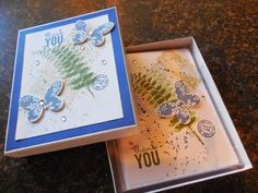 382 - Penny Token's Stampin Spot - Thank You Card Set for Super Bowl Sunday
