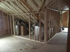 Photo of insulated roof