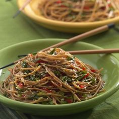Whole-wheat pasta bolsters fiber and nutrients in this popular Asian noodle salad. The recipe is from Annelise Stuart of Germantown, New York.