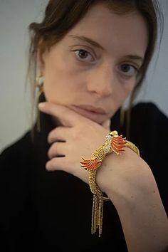 Or, Bracelet, Jewelry, Fashion, Moda, Jewlery, Jewerly, Fashion Styles, Wristlets