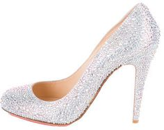 Christian Louboutin Samira Strass Pumps- 7112style.website -